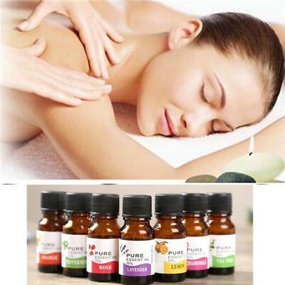 10ml Essential Oil 100% Pure & Natural Aromatherapy Essential Oils Aroma GIFT