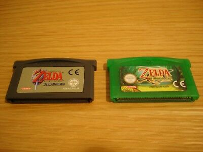 2 GBA Games The Legend of Zelda A Link to the Past and Minish Cap FREE SHIPPING!