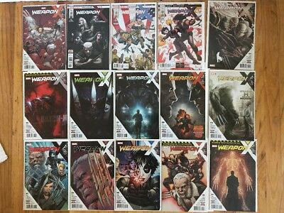 WEAPON X 1-15 Complete Full Run WEAPON H Wolverine Pak 2017