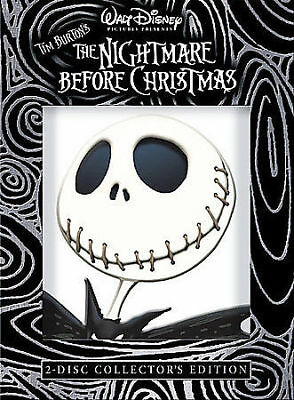 Disney's The Nightmare Before Christmas 2 Disc DVD Collector Edition New Sealed