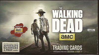 Cryptozoic The Walking Dead Season 4 Part 1 Box of 24 Packs Sketch autographs ?