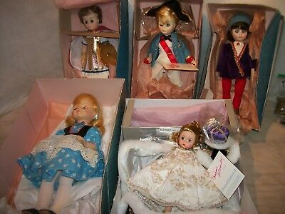 Lot of 5 Md. Alexander Dolls