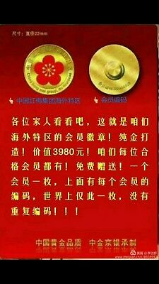 Consultation Chinese free gold money coin new internet 中国人请看 在期限内送钱给你