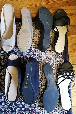 Woman's Shoe Lot - Woman's Wedges/High Sandal - Size 8 - 4 Pairs