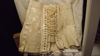 Vintage Rengo Foundations Front Lace Corset In Orig Box