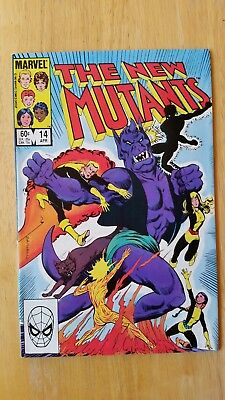 New Mutants #14 NM/9.4 1983 First appearance of Magik