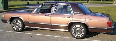 1989 Mercury Grand Marquis LS 1989 Mercury Grand Marquis LS with Very Rare Factory Performance Options !