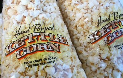 Hand Popped Kettle Corn Poly Bags 8.5 X 18 Inches     (Package of 20 )