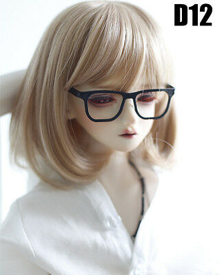 Cool Black Glasses For BJD 1/4 MSD 1/3 SD17 Uncle Doll Accessories GS9