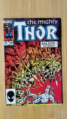 Thor #344 NM-/9.2 1984 First appearance of Malkith the Dark Elf Lord