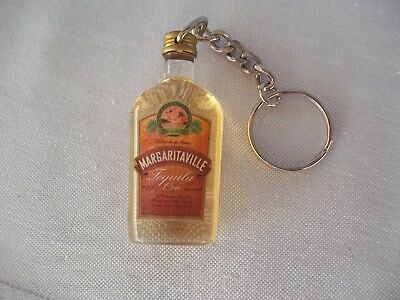 Margaritaville Tequila Bottle Key Chain Advertising