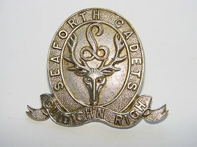 Canada Pre WW1 Cadet Cap Badge The Seaforth Highlanders Cadet Battalion c. 1914