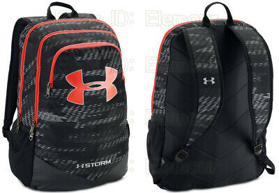 08a7d7a7c1d0 UNDER ARMOUR BOYS UA Storm Scrimmage Backpack 1277422 black red ...