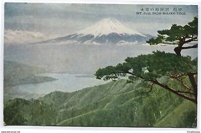 CPA-Carte postale-  Japon - Mont Fuji From Misaka Toge - 1928 ( CP4361)