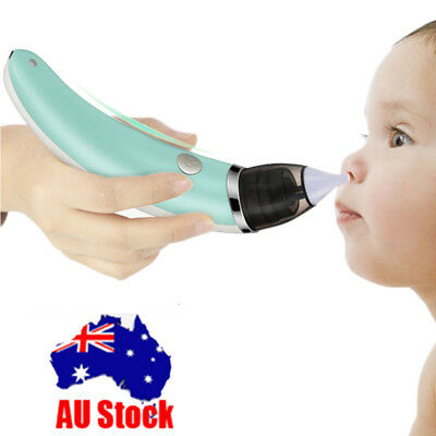 Baby Nasal Aspirator Nose Cleaner Snot Sucker Electric Safe Hygienic For baby