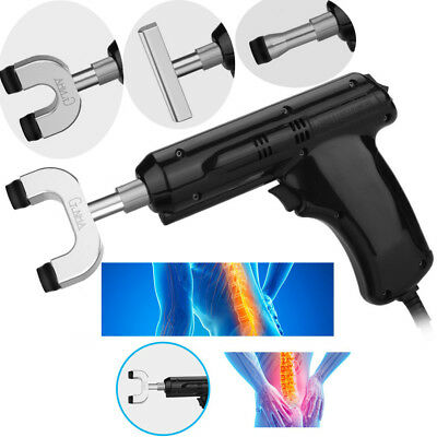 Chiropractic I Adjusting Tool Gun Therapy Spine Activative Correction Massage lj
