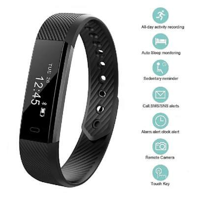 Health Fitness Activity Tracker Smart Sports Wrist Watch Band For Android iPhone
