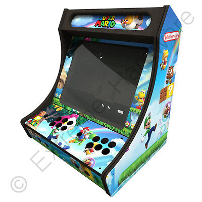XCADE B19C-X Super Mario 2 Player Bartop Arcade Machine Cabinet Kit MAME Pi  sc 1 st  PicClick UK & XCADE B19C-X SUPER Mario 2 Player Bartop Arcade Machine Cabinet Kit ...
