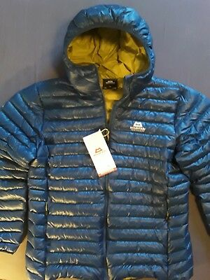 Mountain Equipment Arete Hooded Jacket Men, leichte Daunenjacke, Herren, XL, NEU