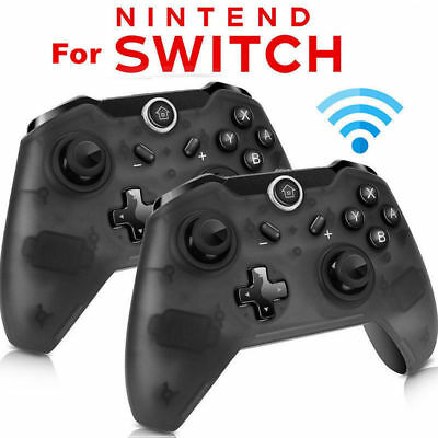 Bluetooth Wireless Pro Controller Gamepad Joypad Remote F Nintend Switch Console