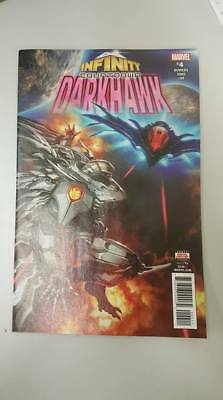 Marvel Comics: Infinity Countdown #4 Darkhawk Sep 2018 - BN - Bagged and Boarded