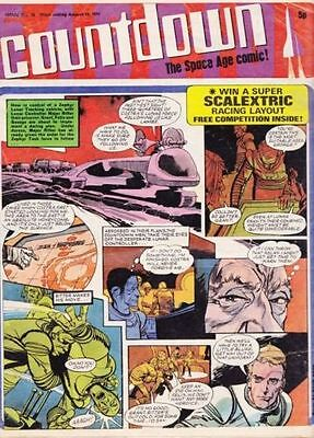 Countdown/TV Action Comics on Disc pdf formats comics to read on PC and Laptops