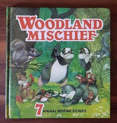 WOODLAND MISCHIEF by Lucy Kincaid (Hardcover, 1978) RARE, SCARCE TITLE