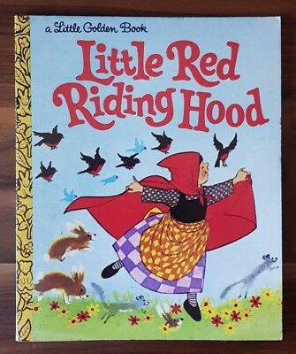LITTLE RED RIDING HOOD by Mabel Watts A Little Golden Book (Paperback, 1977)