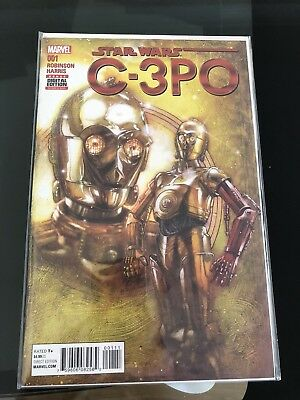 Brand new Star Wars C-3PO comic book, 1st print
