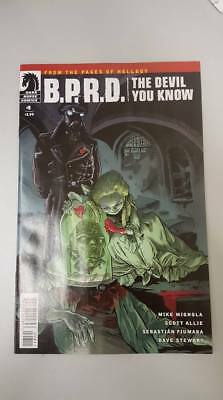 Dark Horse Comics:  B.P.R.D. The Devil You Know #8 (2018) BN Bagged and Boarded