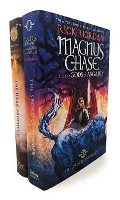 Rick Riordon Deluxe 2 Books Collection Set Pack Magnus Chase, Trials Of Apollo