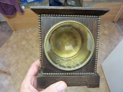 Small Old Drum Clock Case Etc  (Dr)