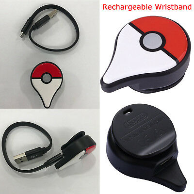 Rechargeable Bluetooth Watch Smart Wristband For Pokemon Go Plus Nintendo Game