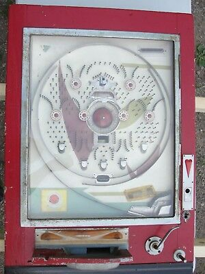 Vintage 1961 Shinei Pachinko Game Pre - Electric  Restoration  Or Parts