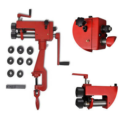 Power Bead Roller Former Rolling Machine Swage Beading Cast Iron Powder Coating
