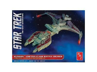 AMT1027/12 AMT Model Kit - StarTrek KLINGON VOR'CHA-CLASS BATTLE CRUISER