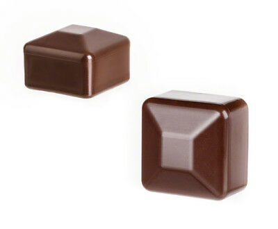10 caps brown post end square plastic fence accessories cover tube plug external