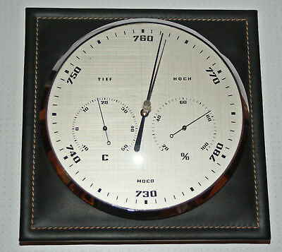 MOCO 511 LS Barometer Hygrometer Thermometer Wetterstation Made in Germany