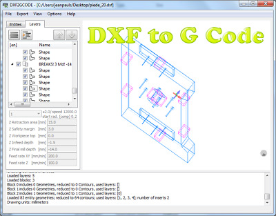 DXF2GCODE (CONVERT 2D DXF, PDF Drawings to CNC Machine G