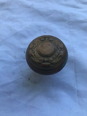 Eastlake Victorian Brass Antique Door Knob Hardware Doorknob Collectible 2 1/4""
