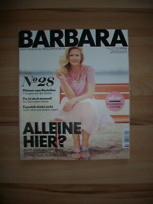 Barbara - Frauenmagazin - Ausgabe August/September 2018