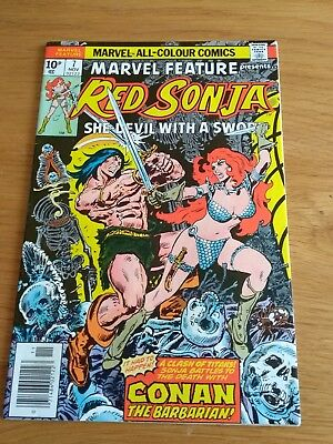 Red Sonja Marvel Features #7 Hi grade issue