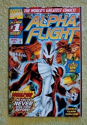 Alpha Flight #1 vol 2 (Aug 1997, Marvel) 8.0 VF