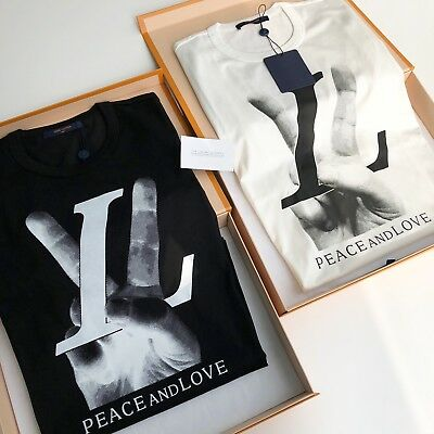 Louis Vuitton Peace And Love Tshirt Eur 47951 Picclick Fr