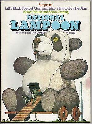 National Lampoon #28 (Jul 1972)  SURPRISE!   FN-