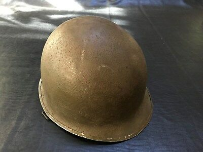 World War II / WWII M1 Helmet, Front Seam, Swivel Bale