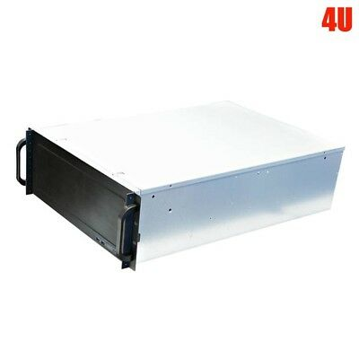 "4U Rack Mount Server Case Chassis 15x 3.5"" Drive Bay 2x USB Port EEB CEB ATX ITX"
