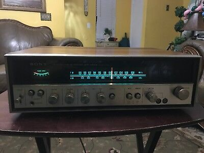 Vintage Sony STR-6036A Receiver In Good Working Condition.