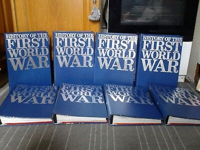 history of the first world war, purnell, 8 volumes