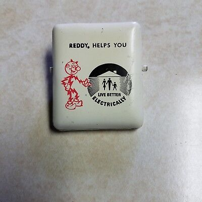 Reddy Kilowatt receipt clip